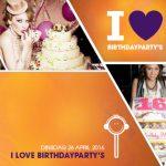 Popcake viert de verjaardag van onze koning