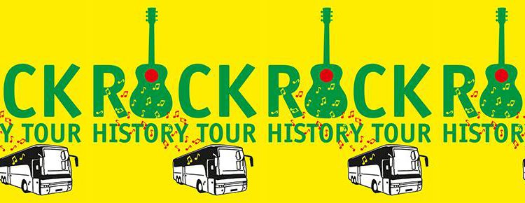 ROCK HISTORY TOUR 6 Mei is een 'Rock Special!