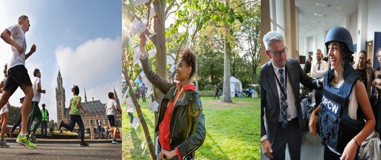 Den Haag vierde vier dagen lang de Vrede tijdens het Just Peace festival