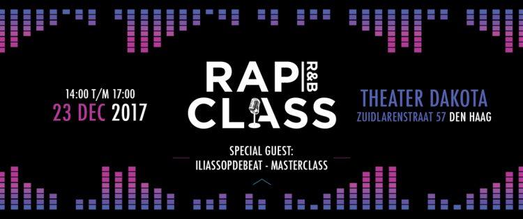 RAP CLASS 2017 houden eindpresentatie in Theater Dakota