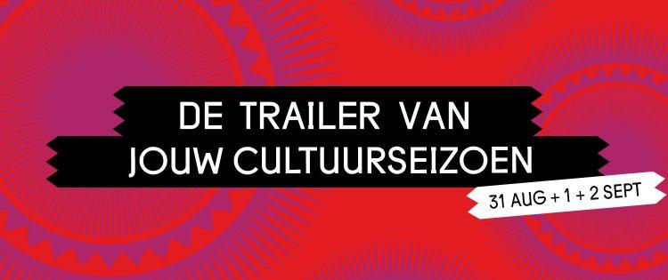 UIT FESTIVAL DEN HAAG 2018 De trailer van jouw cultuurseizoen