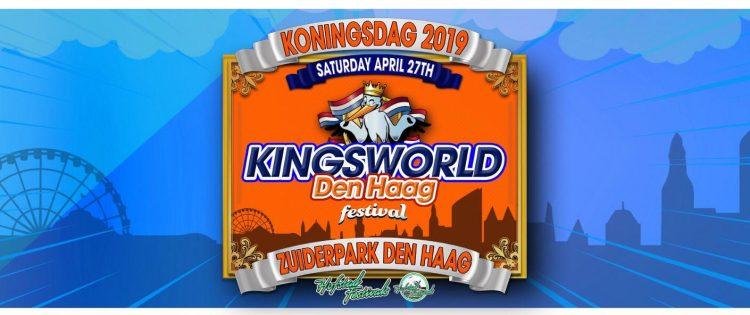 Nieuw festival op Koningsdag, Kingsworld Den Haag
