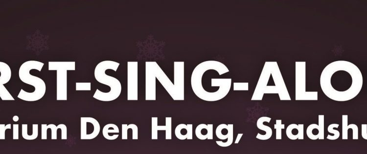 Kerst-Sing-ALong in het Atrium Den Haag