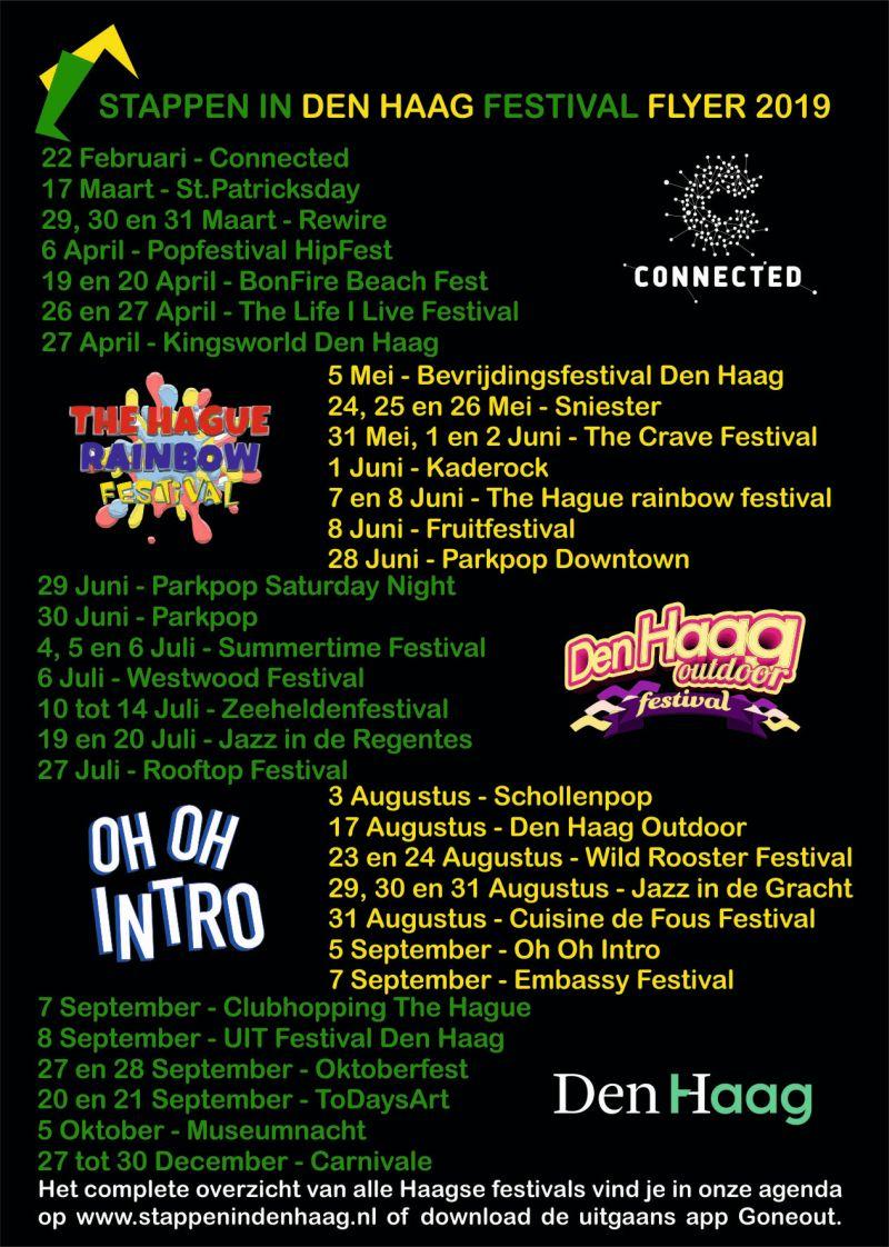 Festival flyer achter 2019