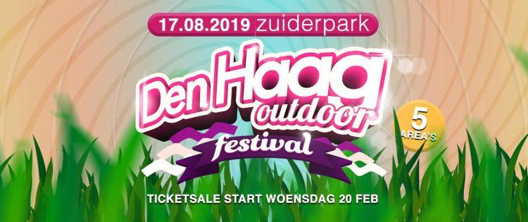 Den Haag Outdoor 2019, woensdag begint de voorverkoop
