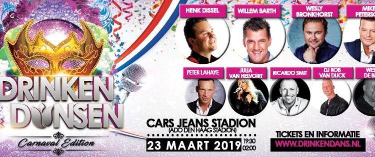 ADO Stadion omgetoverd tot Hollands meezingfeest met topartiesten