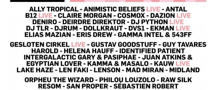 The Crave Festival transformeert tot 3-daags elektronisch stadsfestival