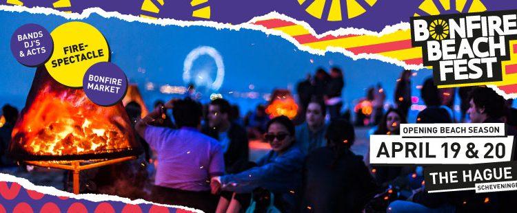 Contouren BonFire Beach Fest verrijzen aan Haagse kust