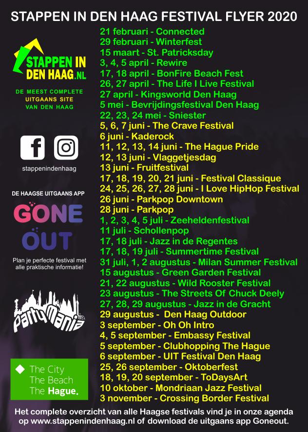 Festival Flyer 2020